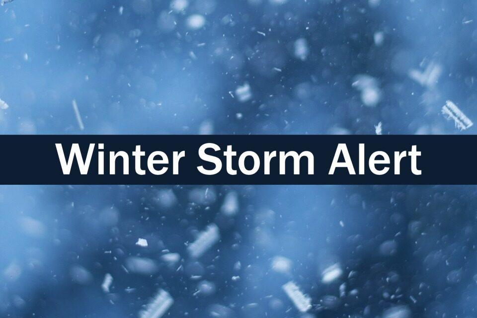 Winter Storm Update